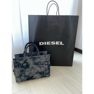 ディーゼル(DIESEL)の新品 diesel バッグ デニム(ハンドバッグ)