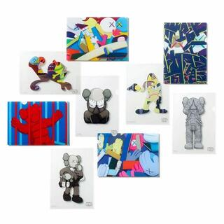 KAWS TOKYO FIRST 限定 クリアファイル A4サイズ 全9種(クリアファイル)