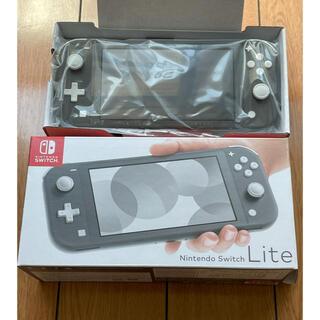 ニンテンドースイッチ(Nintendo Switch)の【新古品】Nintendo Switch Lite グレー(携帯用ゲーム機本体)