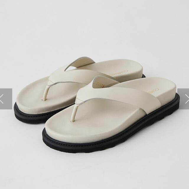 DEUXIEME CLASSE(ドゥーズィエムクラス)の極美品 CAMINANDO カミナンド★トングサンダル 37 レディースの靴/シューズ(サンダル)の商品写真