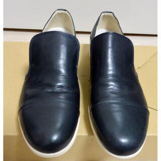 リーガル(REGAL)の新品 ARGIS アルジス 革靴 日本製 25.5cm 40 黒 スリッポン(ドレス/ビジネス)