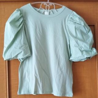 エイチアンドエム(H&M)のH&M新品ボリューム袖(シャツ/ブラウス(半袖/袖なし))