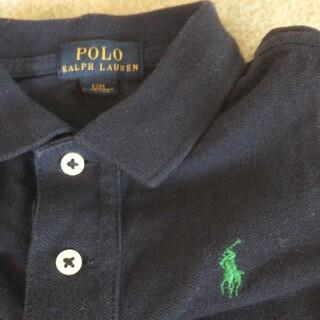 ポロラルフローレン(POLO RALPH LAUREN)のラルフローレン ポロシャツ 紺色 長袖 80 12m キッズ ベビー ネイビー(シャツ/カットソー)