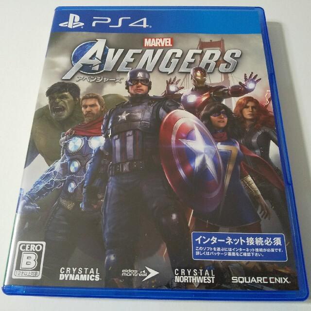 PlayStation4(プレイステーション4)のMarvel's Avengers(アベンジャーズ) PS4 エンタメ/ホビーのゲームソフト/ゲーム機本体(家庭用ゲームソフト)の商品写真