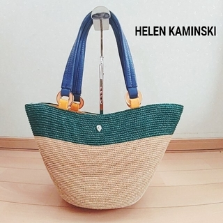 HELEN KAMINSKI - 人気 HELEN KAMINSKI ヘレンカミンスキー  カゴバッグ