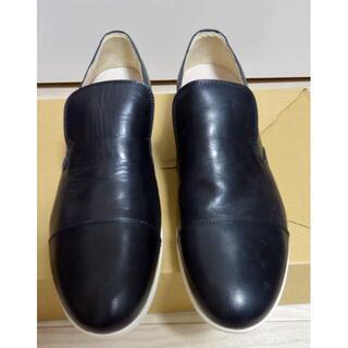 リーガル(REGAL)の新品 ARGIS アルジス 革靴 日本製 27cm 43 黒 スリッポン(ドレス/ビジネス)