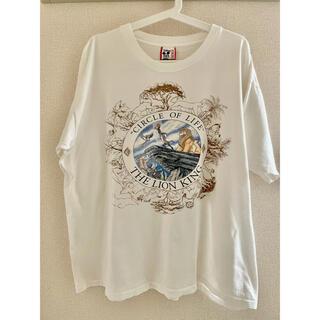 Disney - 激レア90s ヴィンテージディズニー ライオンキング サークルオブライフtシャツ