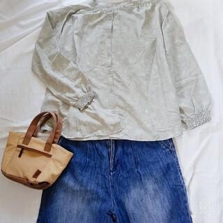 サマンサモスモス(SM2)のSM2 ノーカラーシャツ(シャツ/ブラウス(長袖/七分))