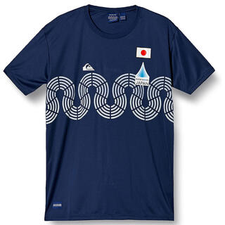 クイックシルバー(QUIKSILVER)のクイックシルバー NAMINORI JAPAN  五輪 シャツ 波乗りジャパン(Tシャツ/カットソー(半袖/袖なし))