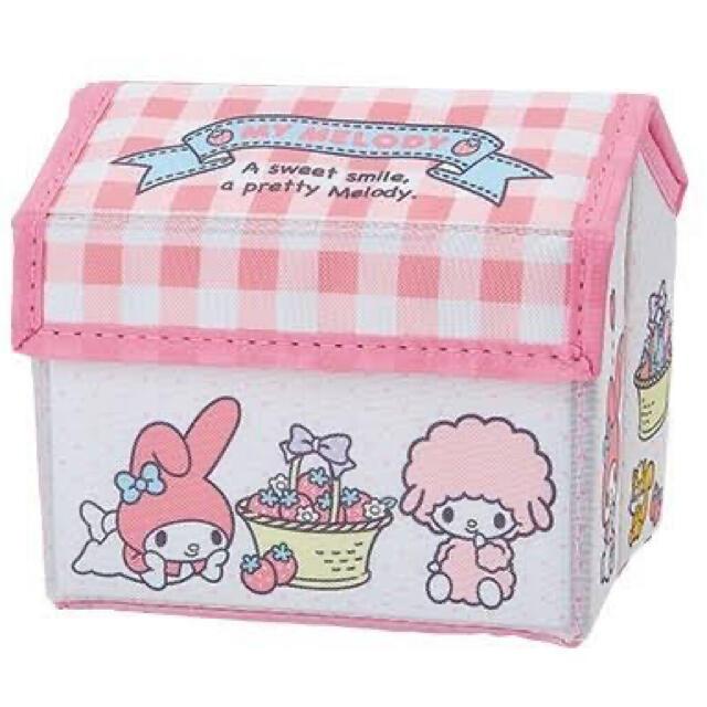 マイメロディ(マイメロディ)の非売品 マイメロディ 収納BOX エンタメ/ホビーのおもちゃ/ぬいぐるみ(キャラクターグッズ)の商品写真