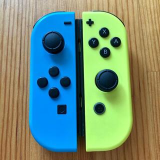 Nintendo Switch - Switch ジョイコン ネオンブルー×ネオンイエロー ニンテンドー