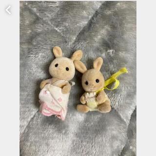 エポック(EPOCH)のシルバニアファミリー うさぎの赤ちゃんセット(ぬいぐるみ/人形)
