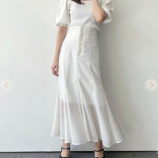 ココディール(COCO DEAL)のシアーマーメイドスカート(ロングスカート)