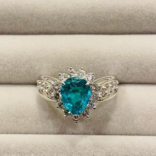 百貨店購入♡エメラルド ダイヤモンド リング プラチナ