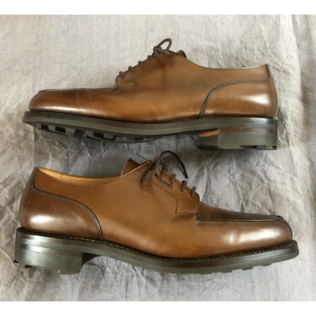 Crockett&Jones(クロケットアンドジョーンズ)の新品未使用 クロケット&ジョーンズ モールトン UK7E メンズの靴/シューズ(ドレス/ビジネス)の商品写真