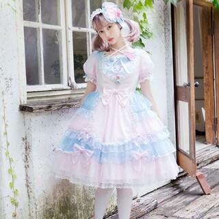 アンジェリックプリティー(Angelic Pretty)の本日限定値下げ⚠️トッピングハート ワンピース カチューシャ(ひざ丈ワンピース)