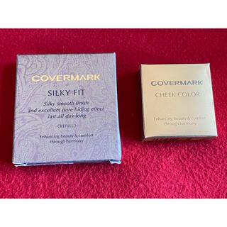 COVERMARK - カバーマーク シルキーフィットSP10(リフィル)+チークカラー02