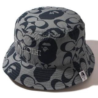 A BATHING APE - BAPE X COACH BUCKET HAT Mサイズ