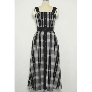herlipto Cotton-blended Plaid Two-piece