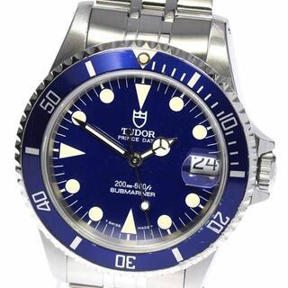 チュードル(Tudor)のチュードル プリンスデイト サブマリーナ 75190 ボーイズ 【中古】(腕時計(アナログ))