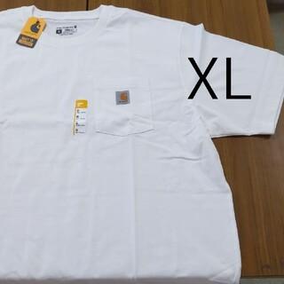 carhartt - 新品 XL WH カーハート K87 Tシャツ ホワイト