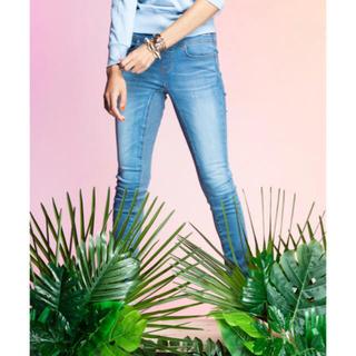 ダブルスタンダードクロージング(DOUBLE STANDARD CLOTHING)の美品 20SS ダブスタ ISKOスーパーストレッチブルーデニムパンツ34(デニム/ジーンズ)