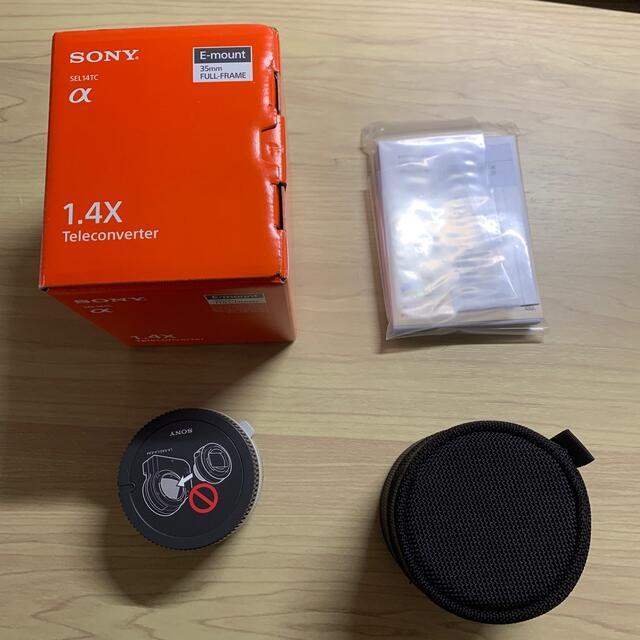 SONY(ソニー)のSONY SEL14TC ほぼ新品 テレコンバーター スマホ/家電/カメラのカメラ(その他)の商品写真