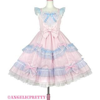 Angelic Pretty - トッピングハートジャンパースカート