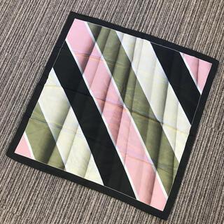 エポカ(EPOCA)のグレー×ピンク系 スカーフ(バンダナ/スカーフ)