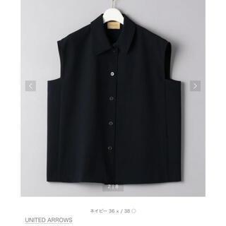 ユナイテッドアローズ(UNITED ARROWS)のUNITED ARROWS ノースリーブブラウス(シャツ/ブラウス(半袖/袖なし))