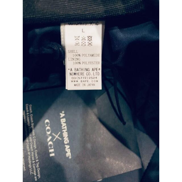 A BATHING APE(アベイシングエイプ)のBape X Coach Bucket Hat L メンズの帽子(ハット)の商品写真