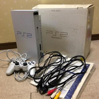 プレイステーション2(PlayStation2)のSONY PlayStation2 SCPH-50000 PW プレステ2 (家庭用ゲーム機本体)