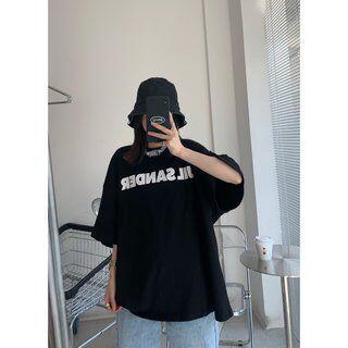 ジルサンダー(Jil Sander)のJIL SANDER ジルサンダー Tシャツ ブラック XL(Tシャツ/カットソー(半袖/袖なし))
