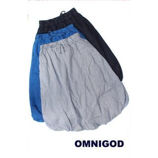 オムニゴッド(OMNIGOD)のOMNIGODバルーンスカート サイズ2(ロングスカート)