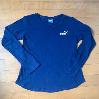 プーマ(PUMA)のPUMA  プーマ ロングTシャツ ロンT  ロゴ入り Mサイズ(Tシャツ(長袖/七分))