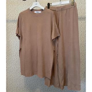 ジェイダ(GYDA)のDHOLIC  サマーニット セットアップ(Tシャツ(半袖/袖なし))