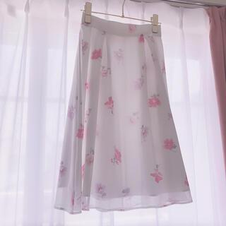 LAISSE PASSE - レッセパッセ♡花柄 スカート