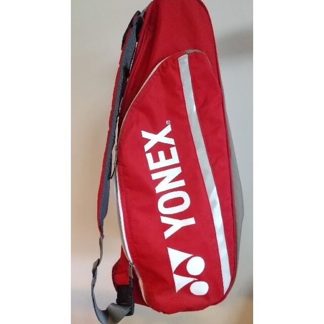YONEX(ヨネックス)のYONEX ラケットバッグ レッド スポーツ/アウトドアのテニス(バッグ)の商品写真
