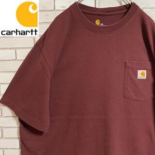 カーハート(carhartt)の90s 古着 カーハート 2XL ポケットT ロゴタグ ビッグシルエット(Tシャツ/カットソー(半袖/袖なし))