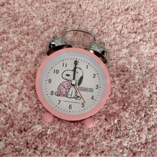スヌーピー(SNOOPY)のスヌーピー 時計(置時計)