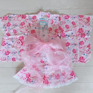 ニシマツヤ(西松屋)の浴衣ドレス 130cm(甚平/浴衣)
