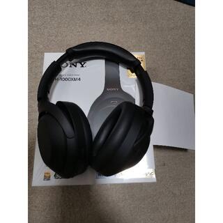 ソニー(SONY)のSONY ブルートゥースヘッドホン ブラック WH-1000XM4BM(ヘッドフォン/イヤフォン)
