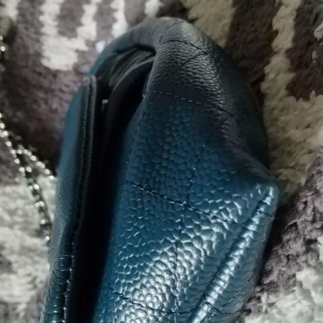 CHANEL(シャネル)のシャネル チェーンウォレット キャビアスキン レディースのバッグ(ショルダーバッグ)の商品写真