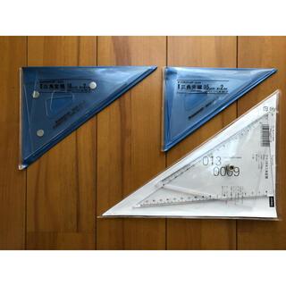 一級建築士製図試験用 三角定規3点セット