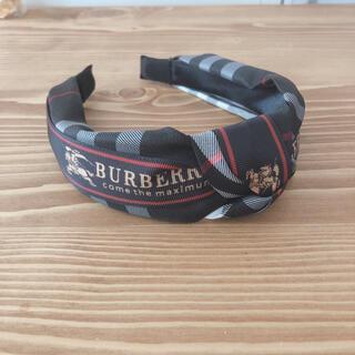 BURBERRY - 新品 BURBERRY カチューシャ バーバリー ブラック チェック