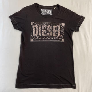 ディーゼル(DIESEL)のディーゼル半袖ロゴTシャツ(Tシャツ(半袖/袖なし))