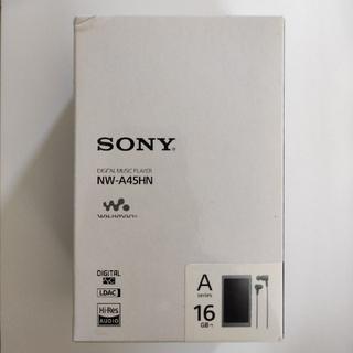 ウォークマン(WALKMAN)のウォークマンAシリーズ NW-A45HN L ムーンリットブルー 16GB(ポータブルプレーヤー)