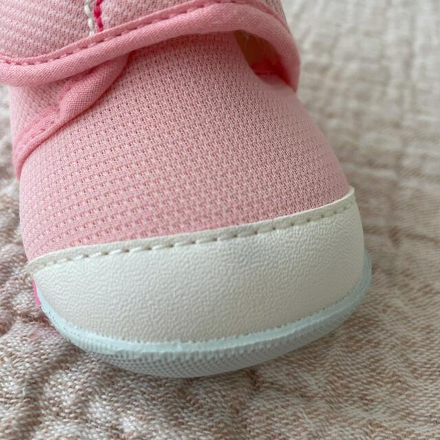 mikihouse(ミキハウス)のミキハウス ファースト ベビー シューズ 12センチ キッズ/ベビー/マタニティのベビー靴/シューズ(~14cm)(スニーカー)の商品写真