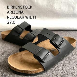 BIRKENSTOCK - BIRKENSTOCK ビルケンシュトック アリゾナ メンズ サンダル 黒