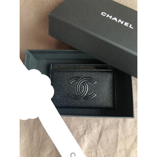 CHANEL - レア!CHANEL シャネル カードケース キャビアスキン